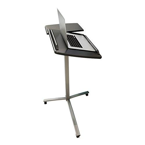 LiuJianQin ZDZ Table d'ordinateur/Amovible/réglable en Hauteur/Table d'ordinateur pivotant/Bureau d'étudiant/Table à Manger (Couleur : A)