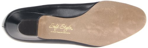 Soft Style by Hush Puppies Angel II Breit Rund Synthetik Stöckelschuhe Navy