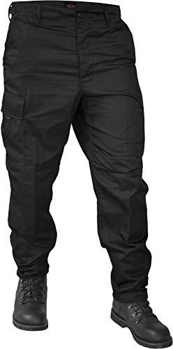 normani US Rangerhose Freizeithose BDU Hose Farbe Schwarz Größe S