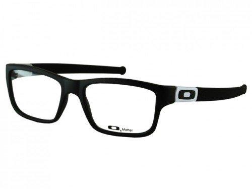 Oakley Rx Eyewear Für Mann Ox8034 Marshal Satin Black Kunststoffgestell Brillen, 51mm
