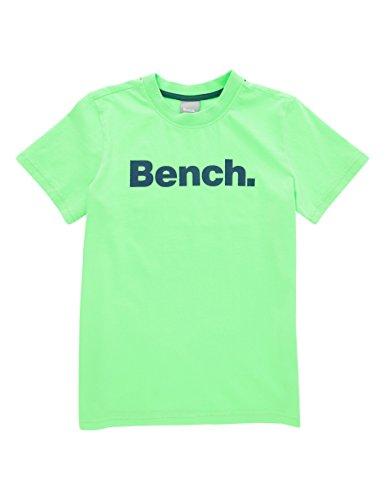 Bench Jungen T-Shirt Core Tee, Grün (Green Gecko Gr11500), 164 (Herstellergröße: 13-14)