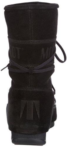 M-boot We Caviar Mid Technique, Bottes De Neige Avec Doublure Intérieure Chaude Femme Noir (schwarz (3)