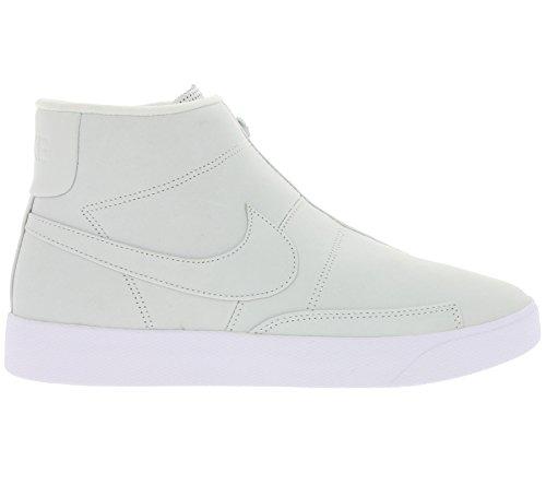 NIKE Nikelab Blazer Advanced Schuhe Echtleder-Sneaker Mid Top Weiß 874775 100 Weiß