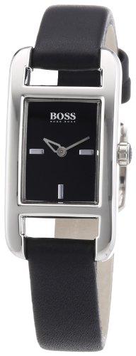 Hugo Boss - 1502337 - Montre Femme - Quartz Analogique - Bracelet Cuir Noir