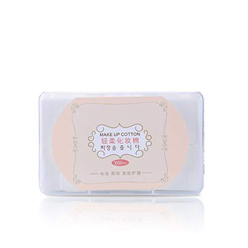 1000 PC/caja algodón Desmaquillante Limpiadora Facial