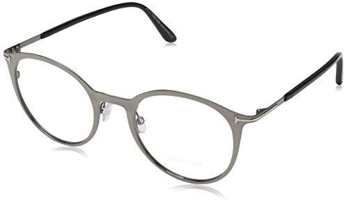 Tom Ford Unisex-Erwachsene Brille FT5465 008 50 Brillengestelle, Gunmetal,