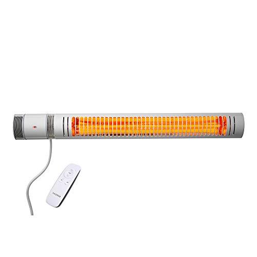 VASNER Slimline X20 Heizstrahler Infrarot 2000W elektrisch Terrassenstrahler Fernbedienung Bild 4*