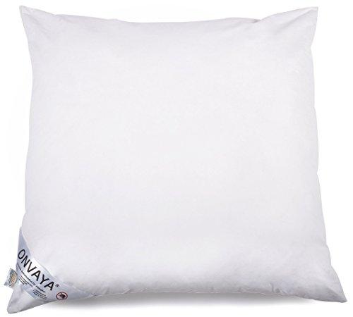 ONVAYA Evolon® Premium Allergiker Kissen 80 x 80 cm | Kopfkissen | Hausstauballergie | Milbendicht | Milbenschutz | Antibakteriell | Atmungsaktiv | Made in Germany