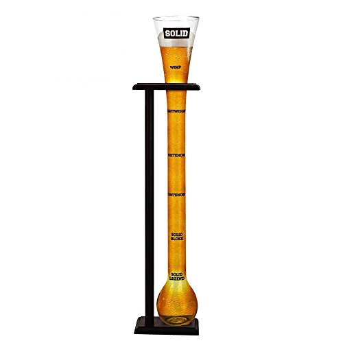 Solid Yard of Ale Glas
