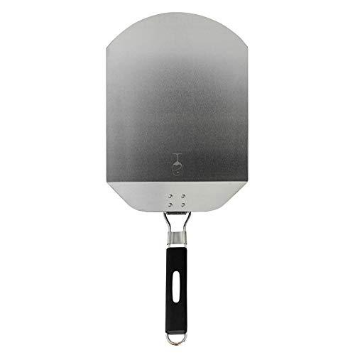 Argon Tableware Klappbare Pizzaschaufel/Pizzapaddel. Edelstahlblatt, ergonomischer Handgriff