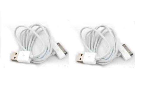 Preisvergleich Produktbild 2x iPhone 4S/4iPad 2USB Datentransfer/Sync/Ladekabel kompatibel mit iPhone 4S 43GS