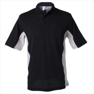 Gamegear - Track Polo Black/Grey/White
