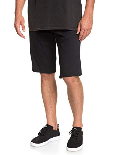 Quiksilver Herren Revolver Color Walk Shorts, Black, 34