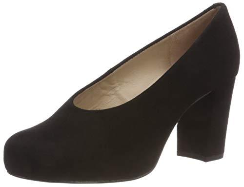 Unisa Nebula_f18_KS, Zapatos Tacón Mujer, Negro Black