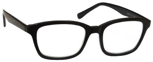 UV Reader Negro Gafas de Lectura Grande Diseñador del Estilo Hombres Mujeres Inc Caso UVR018 Dioptria +3,50