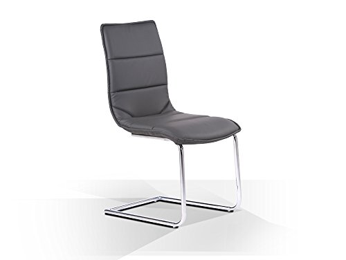 freischwinger stuhl grau bestseller shop f r m bel und. Black Bedroom Furniture Sets. Home Design Ideas