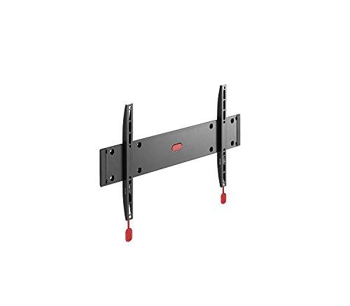 Physix PHW 100 M TV-Wandhalterung für 81-140 cm (32-55 Zoll) Fernseher, starr, max. 30 kg, Vesa max. 400 x 400, schwarz