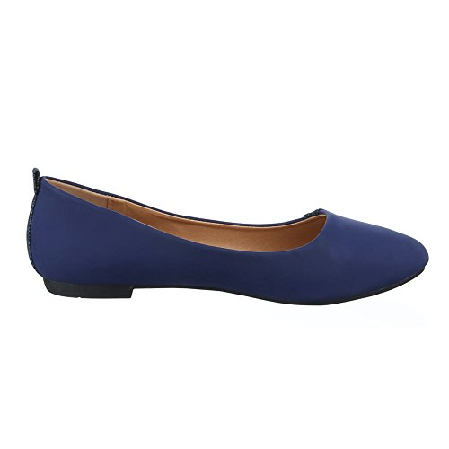 Ital-Design , Coupe fermées femme Bleu - Bleu