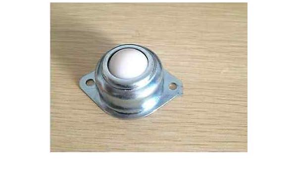 10pcs New Dia 1/'/' Nylon Ball Metal Transfer Bearing Unit Conveyor Roller 25C