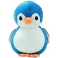 PRA-V Penguin Soft Toy 34cm,Cute Plush Kids Animal (Penguin 34 cm) (Blue)