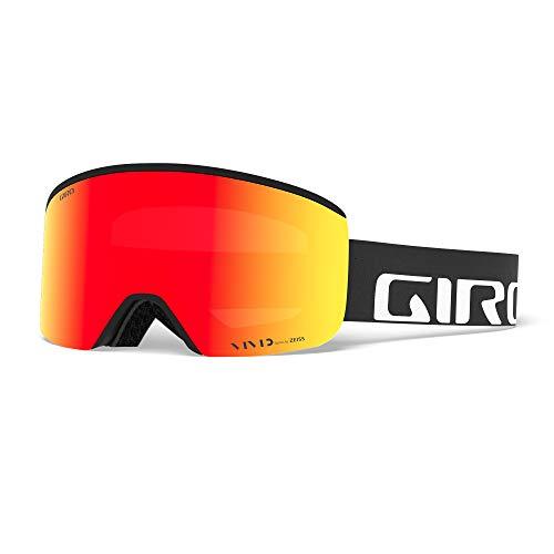 Giro Herren AXIS Skibrille, Black Wordmark, M