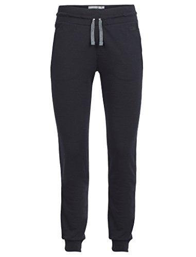 Icebreaker Damen Funktionshose Crush Pants Hose, Black/Charcoal, S