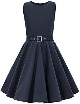 BlackButterfly Kinder 'Audrey' Vintage Clarity Kleid im 50er-Jahre-Stil