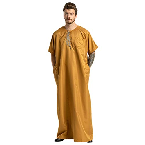 5bf736d5d9b4 Ginli Vestiti Musulmani Donne Etniche Robe Abaya Islamico Musulmano Medio  Oriente Maxi Dressage Bandage Kaftan