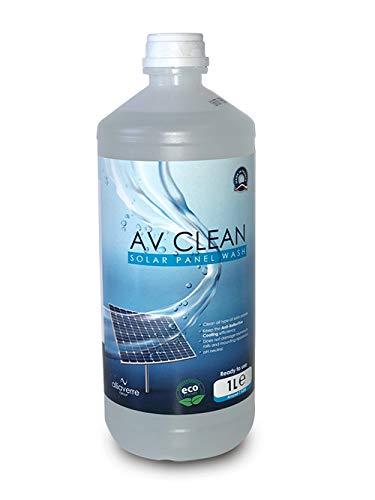 AV Clean es un limpiador premium desarrollado por ALLIAVERRE GRUP, fabricante de acristalamiento para paneles solares y térmicos. La experiencia de esta última, junto con la de estos clientes fabricantes de módulos solares, ha permitido elaborar un p...