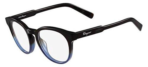 Salvatore ferragamo occhiali da vista sf 2762 dark brown blue unisex
