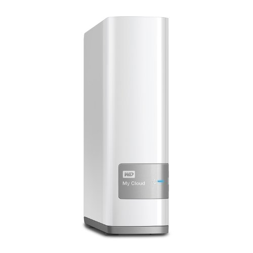 WD WDBCTL0080HWT-EESN 8TB My Cloud persönlicher Speicher (1 Bay NAS, Media Server, Backup, Handy/Tablet Sicherung, Syncronisation Software) weiß