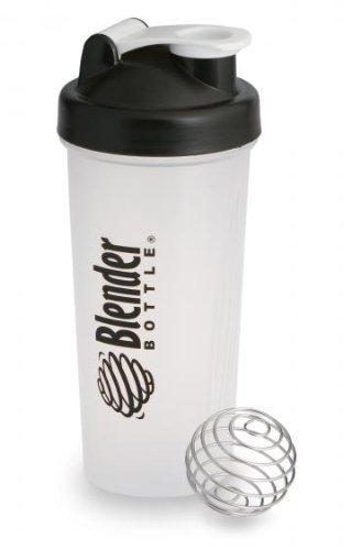 Original Blender Flasche mit Draht Wisk Shaker Mixing Ball Protein Wasser Sport Fitness Flasche (rot) - Rot Sport-mixer Bottle Blender