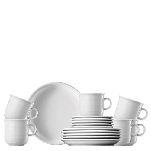 Thomas Trend Weiss Kaffee Set 18tlg.