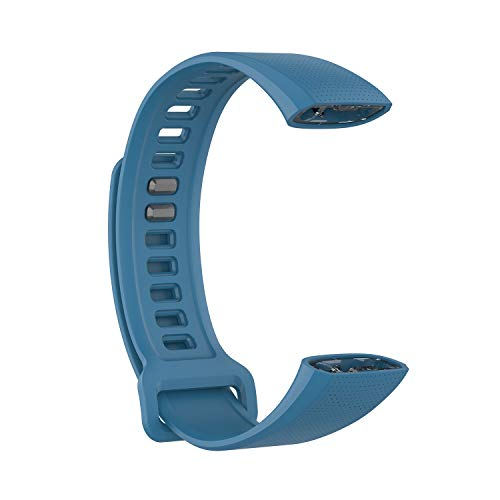 Xbeast Uhrenarmband Armband für Armbanduhr/Armbandbreite: 19,5 mm/Armbandlänge: 112 mm + 99 mm - Premium-Silikon-Ersatzband Armband Armbanduhr - Kompatibel für Huawei Band 2 / Band 2 pro Smartwatch