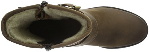 Clarks Reunite, Bottes Motardes Femme Marron (Tan)