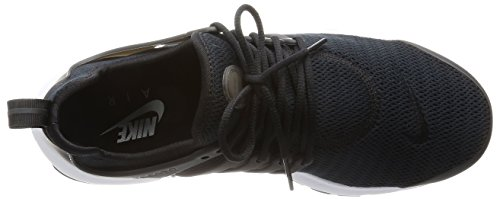 Nike Wmns Air Presto, Scarpe sportive Donna Nero / Nero-Bianco)