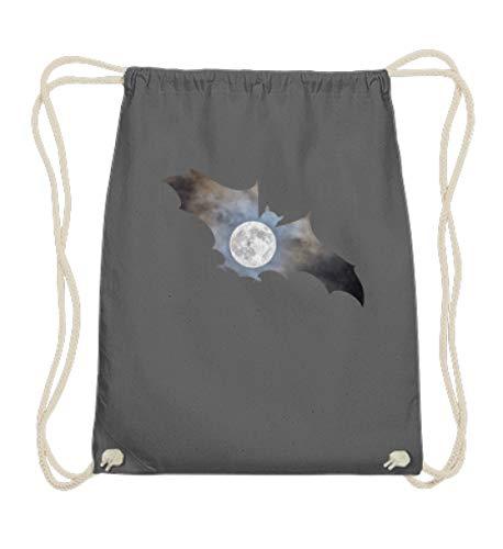 Cooles Blutsauger Fledermaus Mond Vollmond Vintage Halloween Gruselig Nachteule Dunkelheit - Baumwoll Gymsac
