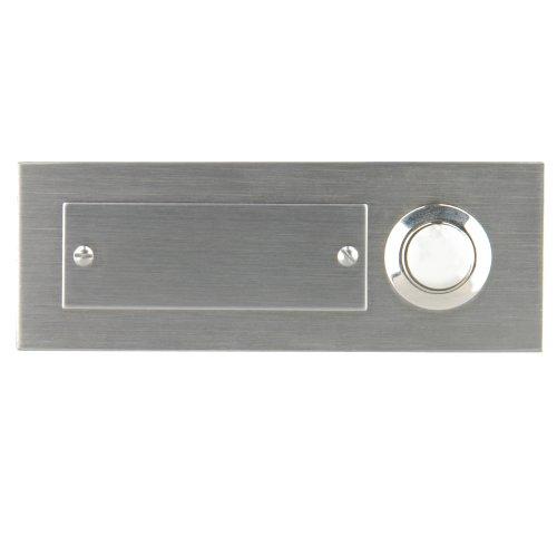 47197 Edelstahl-Klingeltaster 1-fach, Unterputz
