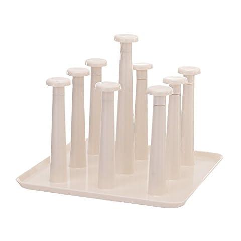 lishui plastikbecher rack einfache becherhalter frame - glas auf den