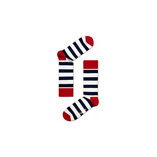 Happy Socks - Calze Stripe Sock - Blue - L/XL - 41/46