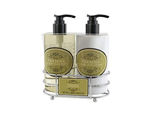 Naturally European Verbena Caddy Hand Wash and Hand Lotion Gift Set 2 x 300ml -