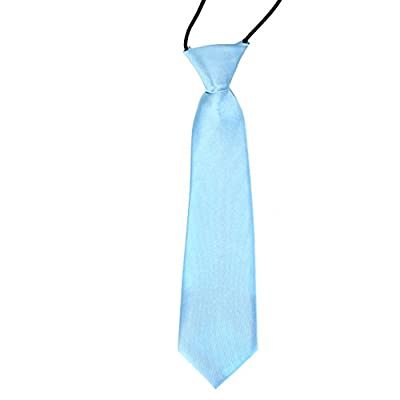CellDeal-Satin Child Kids School Boy Wedding Elastic Neck Tie