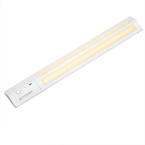 LED Schrankbeleuchtung, BlitzWolf upgraded PIR-Bewegungssensor Licht Schranklicht mit abnehmbare...