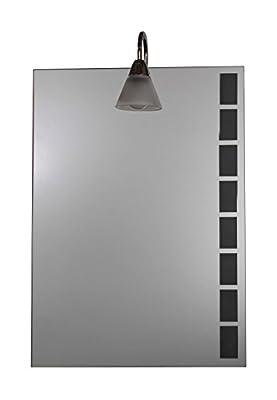 B-WARE - Badspiegel mit Licht 500 x 700 mm
