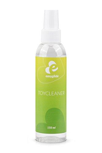 EasyGlide Reinigungsspray (150 ml) Sexspielzeug Reiniger & Reinigungsmittel, zur hygienischen Reinigung von Sex Toys, geruchsneutralisierend, Toy Cleaner ohne Alkohol & Biozide (Vera Aloe Pilz)