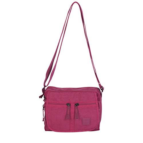 ARTSAC Damen 50020 Shoulder Bag Umhängetasche, Pink (Plum) 240x180x160 Centimeters -