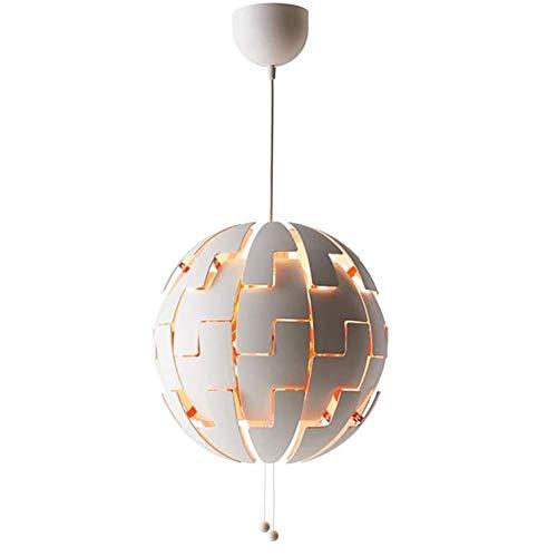 GWFVA Luces Colgantes de Techo LED Modernas de 7 W, Luces de Techo de Hierro de Metal Dorado Pantalla de Globo de Vidrio, lámpara de Isla Colgante de Altura Ajustable, para Sala de Estar, co