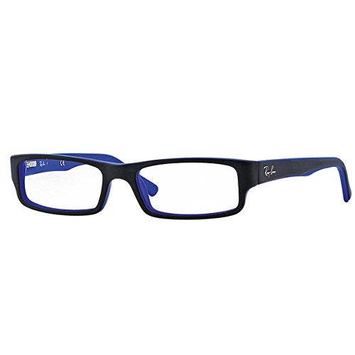 ray-ban-brillengestell-rx5246-5224-52-16-schwarz-blau