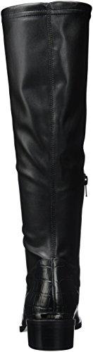 Jb Martin Damen Australe Klassische Overknee-Stiefel Noir (T Velv St/Vrio Em Lit Croc Noir)