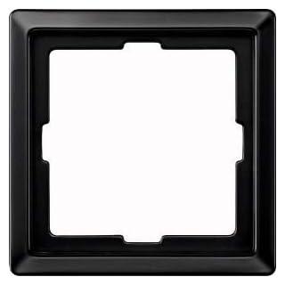 Merten 481169 ARTEC-Rahmen, 1fach, Schwarzgrau